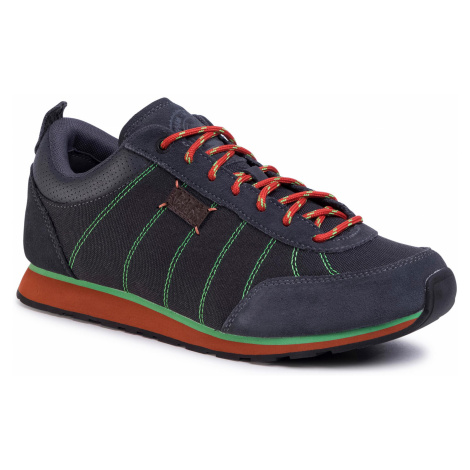 Sneakersy JACK WOLFSKIN - Mountain Dna Low M 4039311 Dark Grey/Green