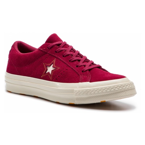 Tenisówki CONVERSE - One Star Ox 163192C Rhubarb/Field Orange/Egret