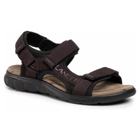 Sandały LANETTI - MS19475-16 Brown 1