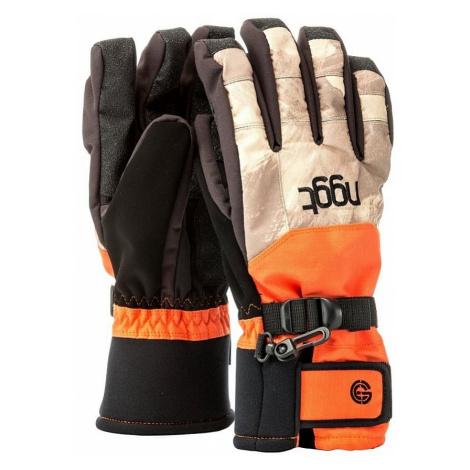 rękawice Nugget Concrate 3 - C/Debris Sand/Orange