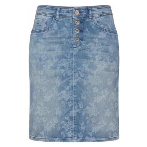 TOM TAILOR Spódnica niebieski