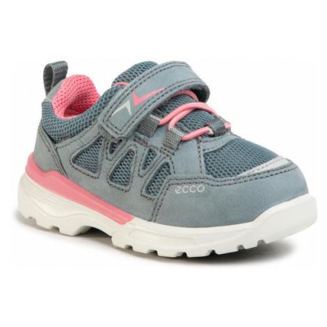 ECCO Sneakersy Urban Hiker 760063202287 Niebieski