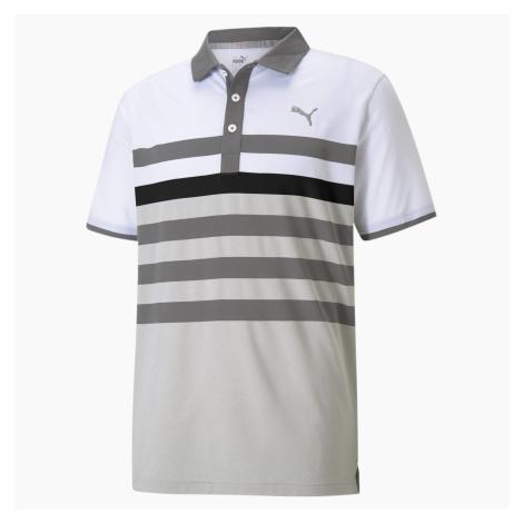 PUMA Męska Golfowa Koszulka Polo MATTR One Way, Czarny, Odzież