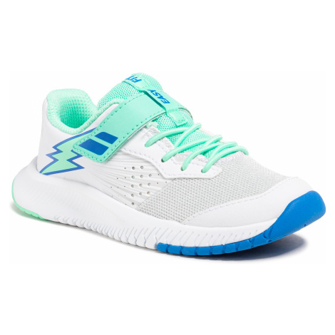 Buty BABOLAT - Pulsion All Court Kid 32S21518 White/Biscay Green