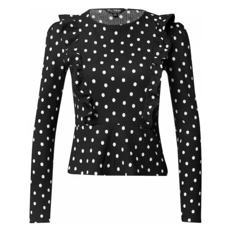 Miss Selfridge Koszulka czarny / biały