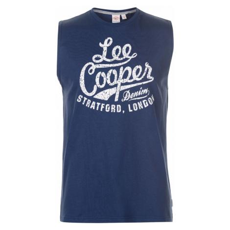 Lee Cooper Large Logo Vest Mens