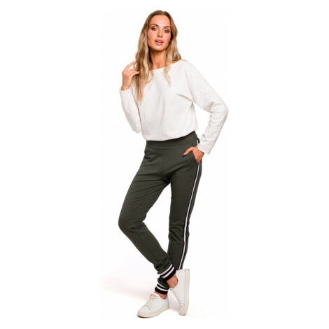 Made Of Emotion Woman's Trousers M460 Military