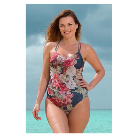 Jednoczęściowy damski strój kąpielowy Florea Rosme