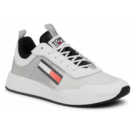 Sneakersy TOMMY JEANS - Gradient Flexi Runner EM0EM00489 Black BDS Tommy Hilfiger