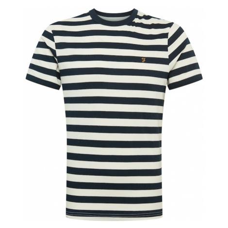 FARAH Koszulka biały / niebieski