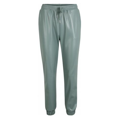 Missguided (Petite) Spodnie pastelowy zielony / jasnozielony
