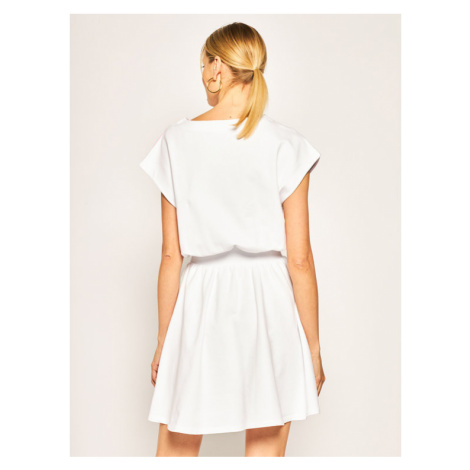 LOVE MOSCHINO Bluza W5B5701E 2139 Biały Regular Fit