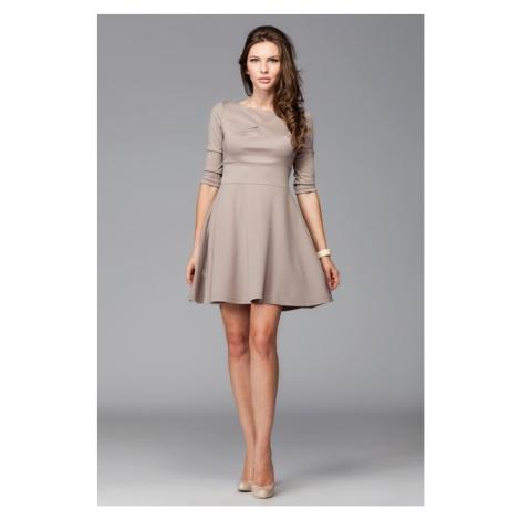 Sukienka damska M081 mocca Figl