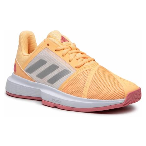 Buty adidas - Courtjam Bounce W FX1523 Aciora/Silvmt/Hazros