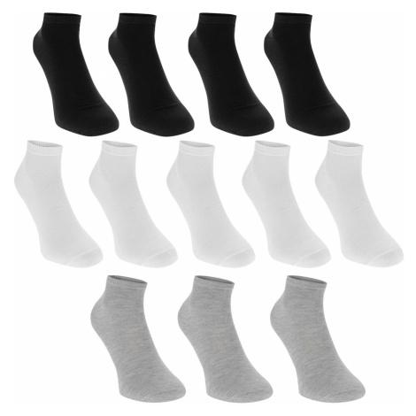 Donnay Trainer Socks 12 Pack Junior