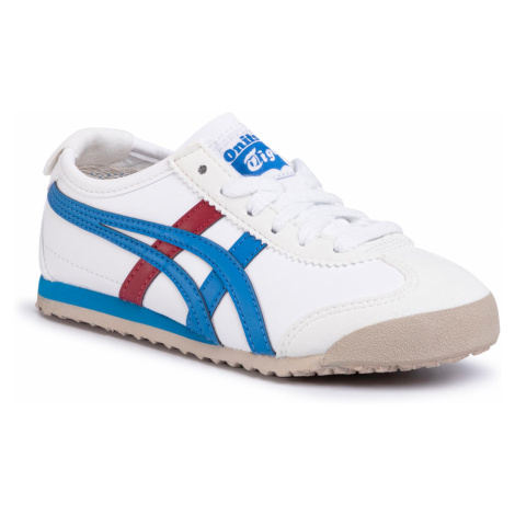 Sneakersy ONITSUKA TIGER - Mexico 66 Ps White/Mid Blue 0142