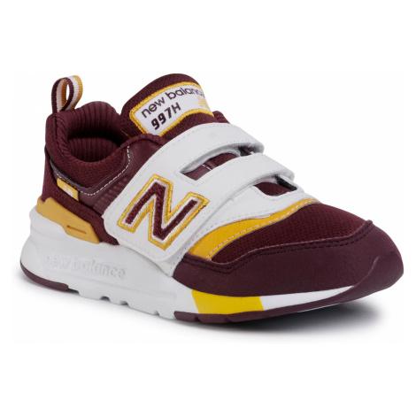Sneakersy NEW BALANCE - PZ997HVU Bordowy