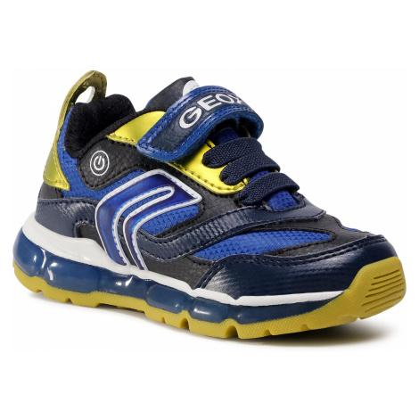 Sneakersy GEOX - J Android B. B J0444B 0CEFU C0749 M Navy/Lime