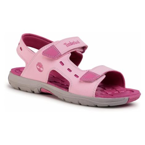 Sandały TIMBERLAND - Moss Jump 2 Strap Sandal TB0A2APDX82 Light Pink Nubuck