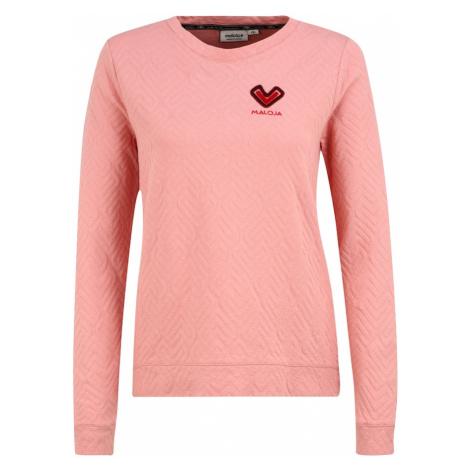 Maloja Koszulka funkcyjna 'AquilegiaM.' różowy