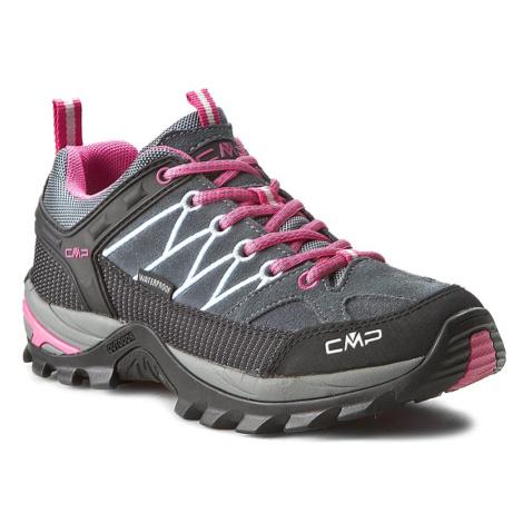 Trekkingi CMP - Rigel Low Wmn Treking Shoe Wp 3Q13246 Grey/Fuxi 103Q