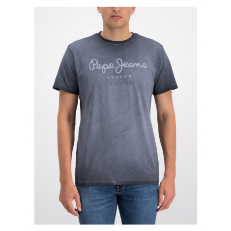 Pepe Jeans T-Shirt West Sir PM504032 Szary Regular Fit