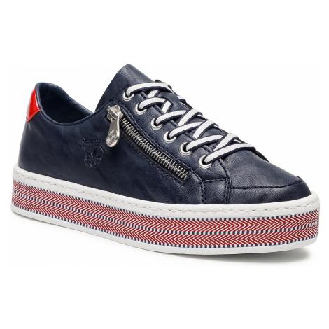 Sneakersy RIEKER - L89C1-14 Blue