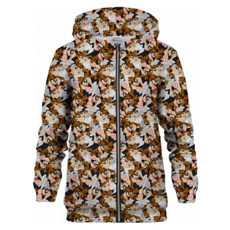 Słodko-gorzka bluza z kapturem Paris Unisex Tasmanian Devil Zip Hkz-U-Pc Lt013