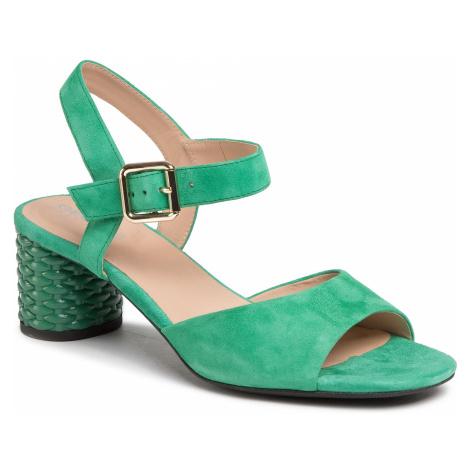 Sandały GEOX - D Ortensia M.S.C D02GNC 00021 C3000 Green