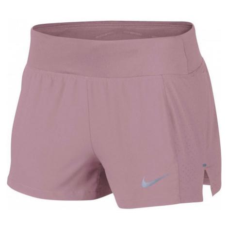 Nike ECLIPSE 3IN SHORT różowy L - Spodenki sportowe damskie
