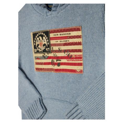 Polo Ralph Lauren Sweter Summer II 322787117001 Niebieski Regular Fit