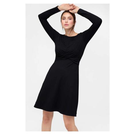 Rozkloszowana sukienka z wiskozy Orsay