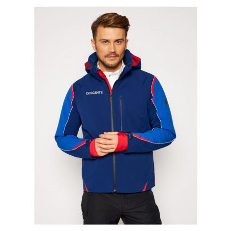 Descente Kurtka narciarska Isak DWMQGK15 Granatowy Tailored Fit