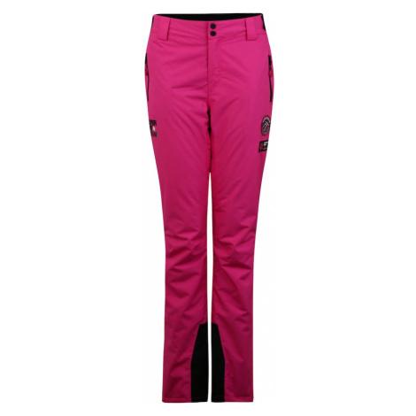 Superdry Snow Spodnie sportowe różowy / czarny