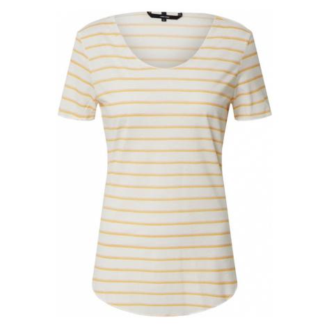 VERO MODA Koszulka biały / żółty