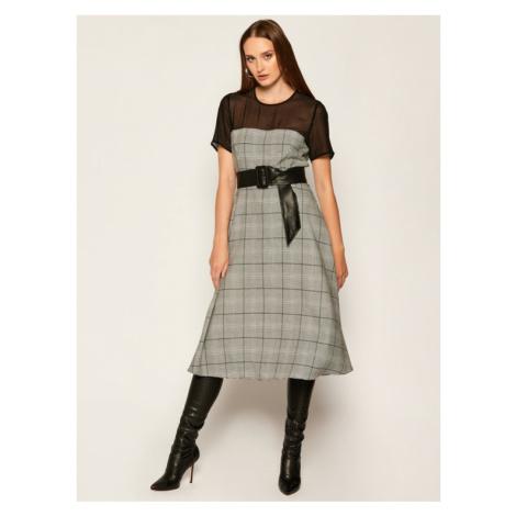 Marella Sukienka codzienna Volt 32264108 Szary Regular Fit