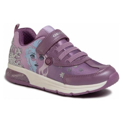 Sneakersy GEOX - J Spaceclub G. D J028VD 011AJ CE8Q8 D Pink/Mauve