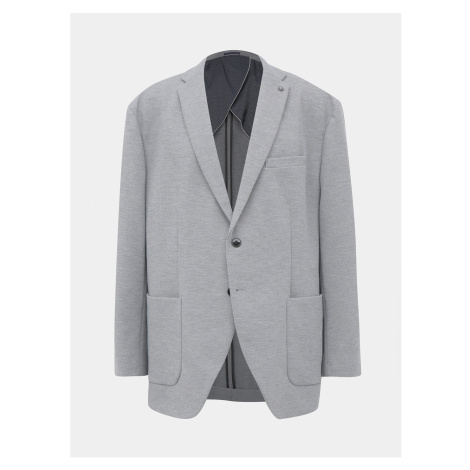 Grey Jacket Selected By Homme Hiken