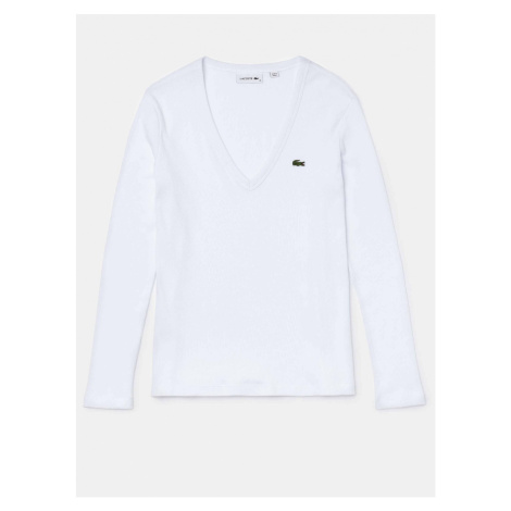 Lacoste Women's White T-Shirt