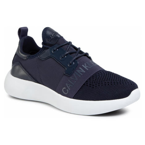 Sneakersy CALVIN KLEIN JEANS - Mel Knit SE8596 Navy