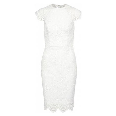 Chi Chi London Sukienka koktajlowa perłowo biały