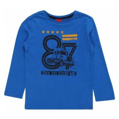 S.Oliver Junior Koszulka niebieski / czarny