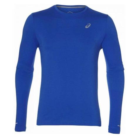 Asics SEAMLESS LS niebieski XXL - Koszulka do biegania męska