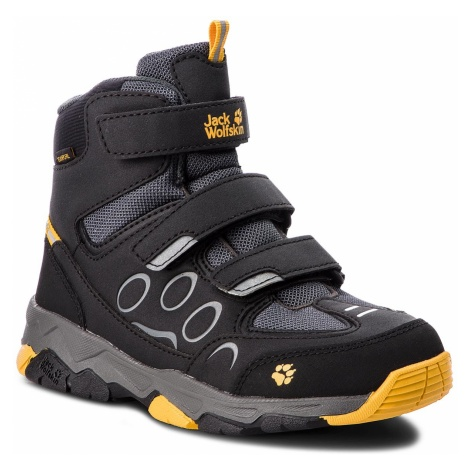 Śniegowce JACK WOLFSKIN - Mtn Attack 2 Texapore Mid Vc K 4020461 Burly Yellow S