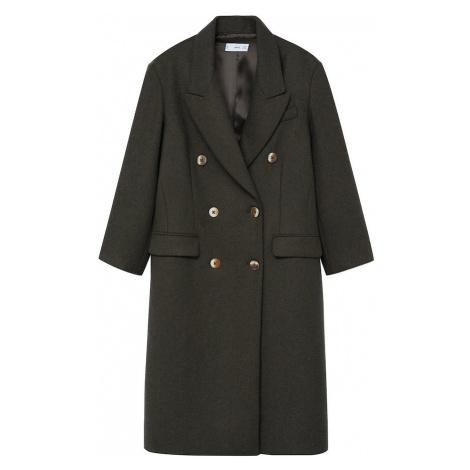 MANGO Płaszcz przejściowy 'Santi' khaki
