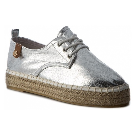 Espadryle TAMARIS - 1-23650-28 Silver Crack 944