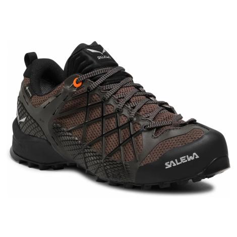 Trekkingi SALEWA - Ms Wildfire Gtx GORE-TEX 63487-7623 Black Olive/Wallnut