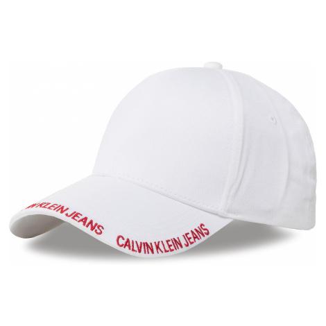 Czapka z daszkiem CALVIN KLEIN JEANS - Ckj Visor Logo Cap W K60K606630 YAF