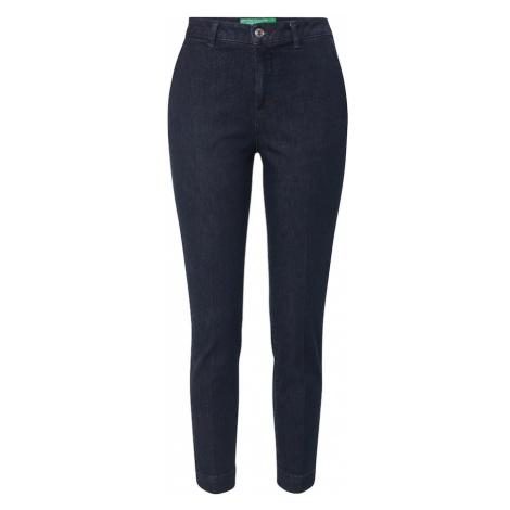 UNITED COLORS OF BENETTON Spodnie ciemny niebieski / niebieski denim