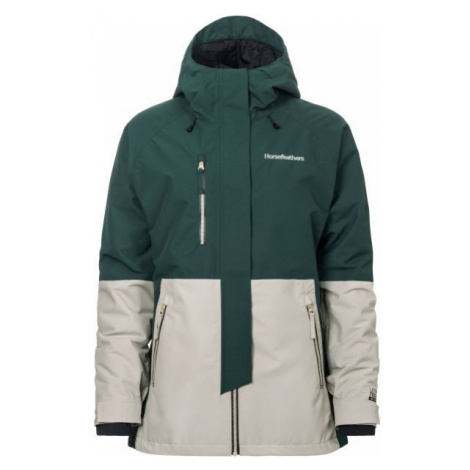 Horsefeathers AIRI JACKET zielony XS - Kurtka narciarska/snowboardowa damska